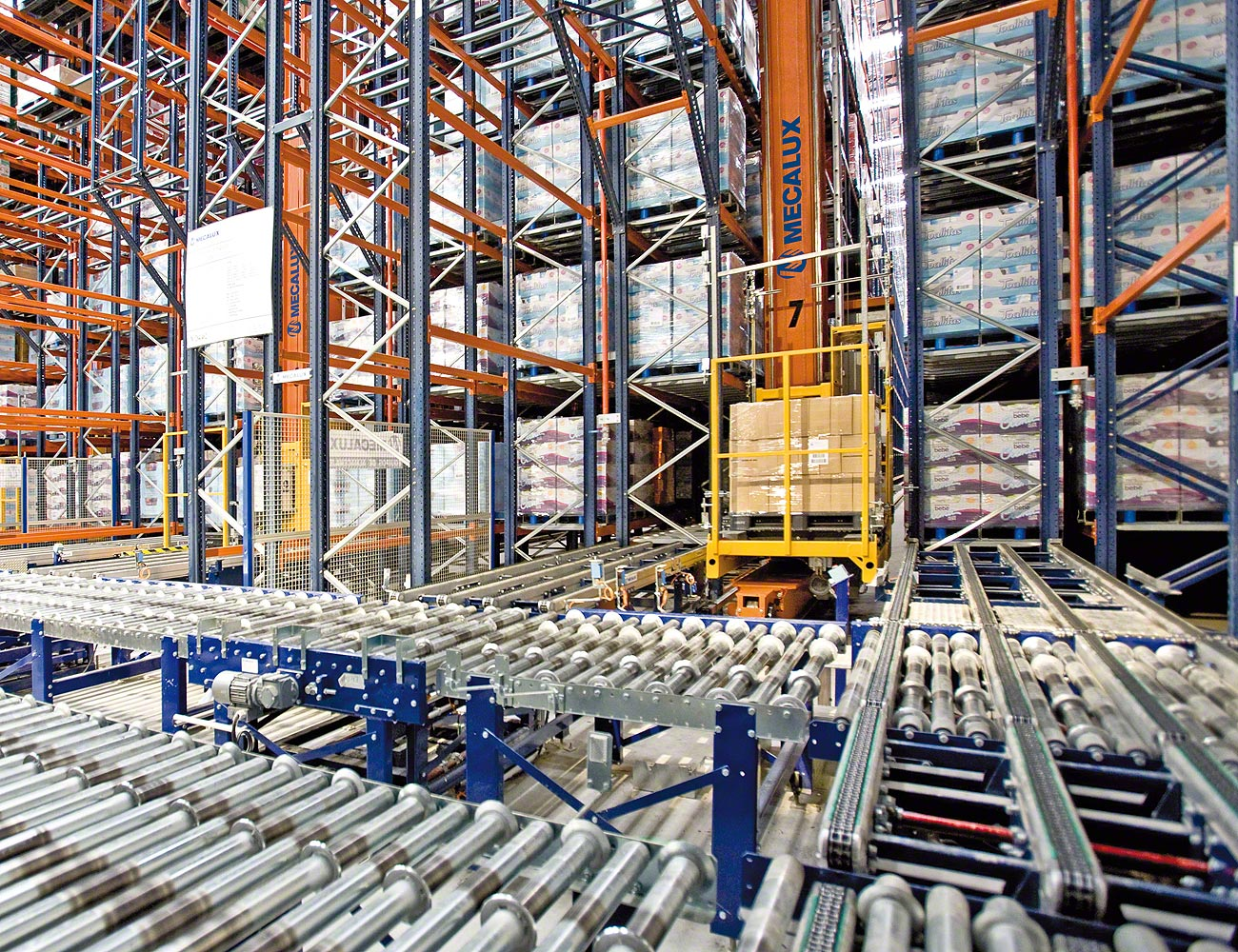 Asrs For Pallets Stacker Cranes For Pallets Interlake