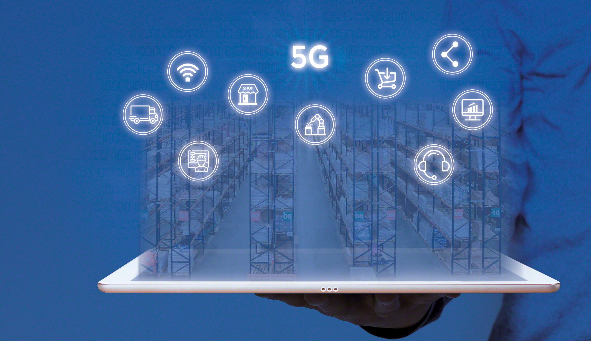 5G will  will revolutionize industry and the logistics sector