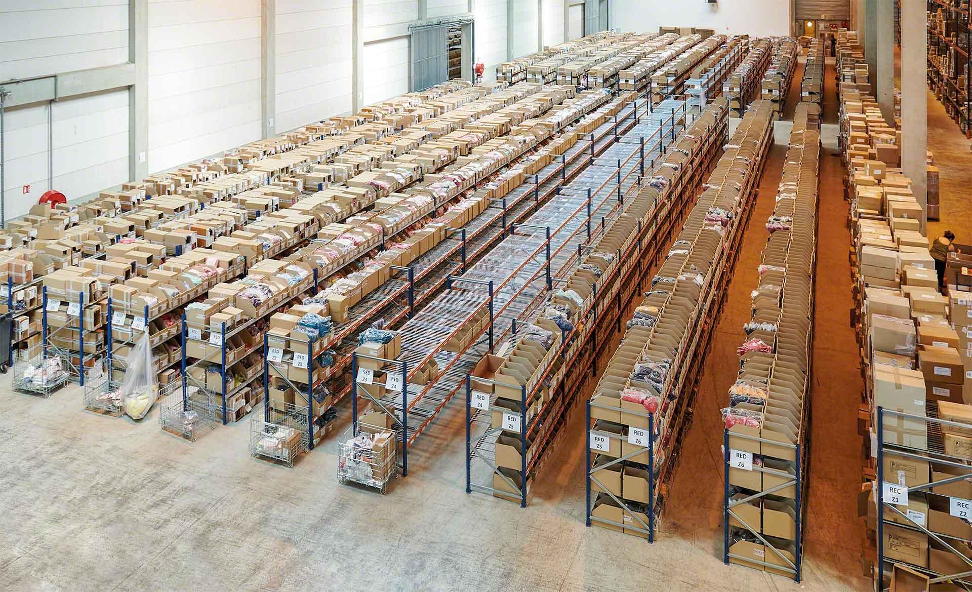 Il rifornimento delle scorte dovrebbe essere organizzato in modo tale che gli scaffali per picking contengano sempre i prodotti necessari