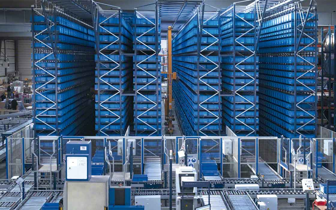 In AS/RS systems, racks offering direct access can be single- or double-deep