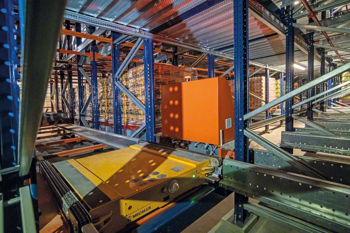 Automated storage with the Pallet Shuttle system