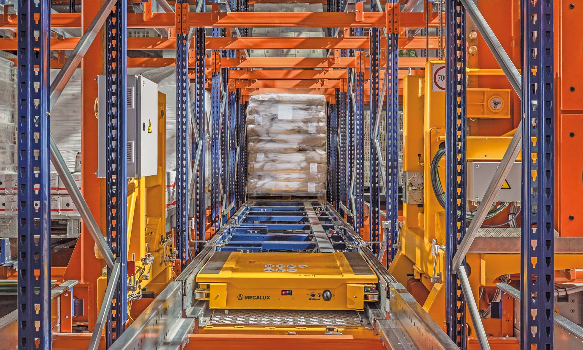 Automated storage facilitates extremely accurate stock control