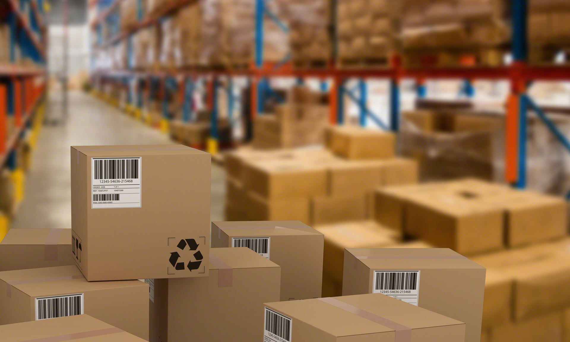 A cluttered warehouse can lead to serious logistics problems for any company