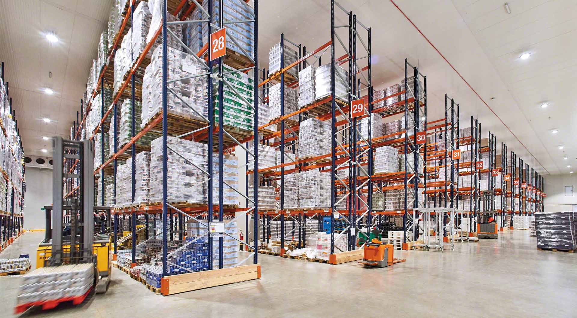 M25P4 cold-store-racking-warehouse