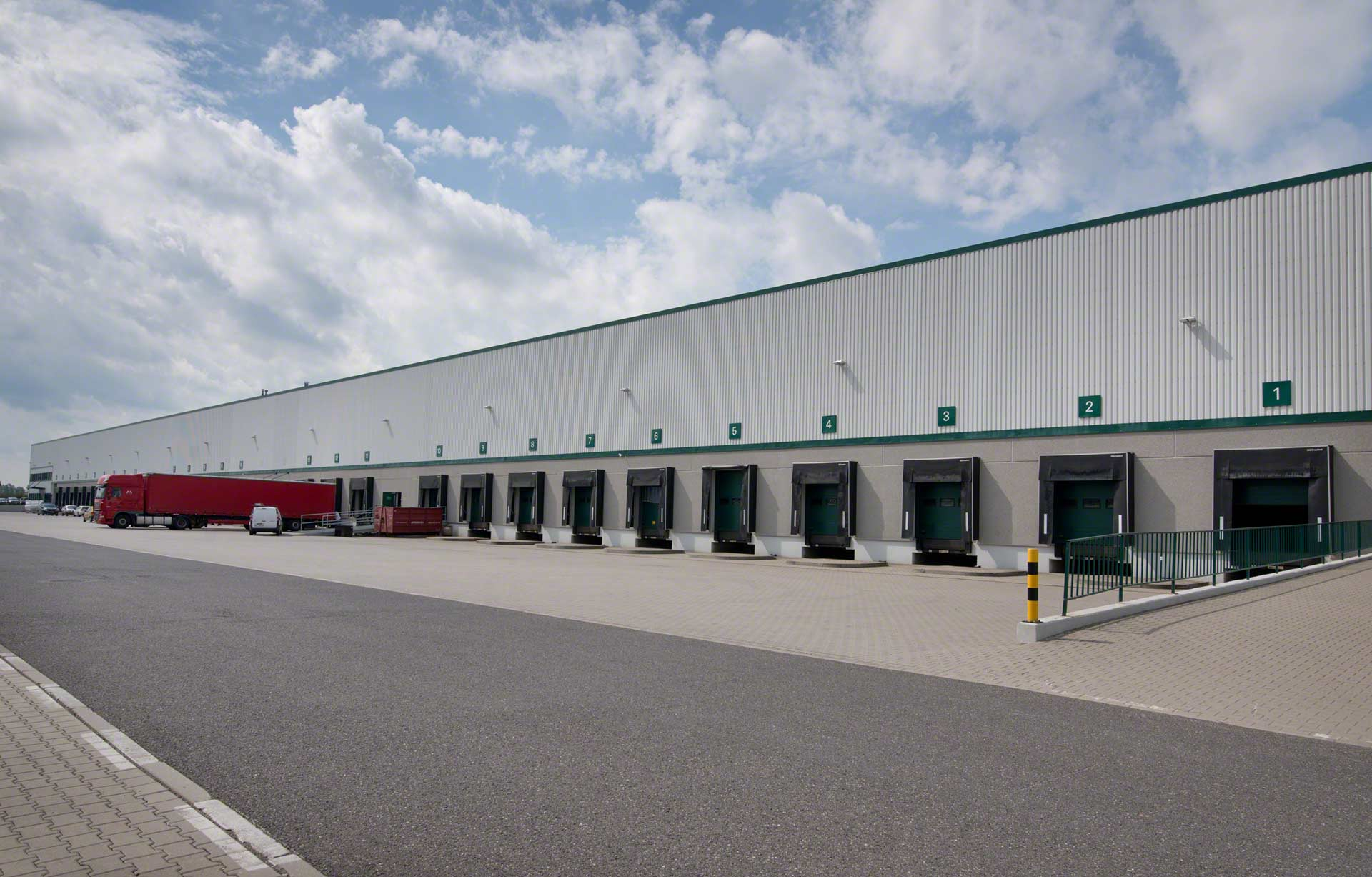 A distribution center is a logistics facility focused on goods receipt and dispatch processes