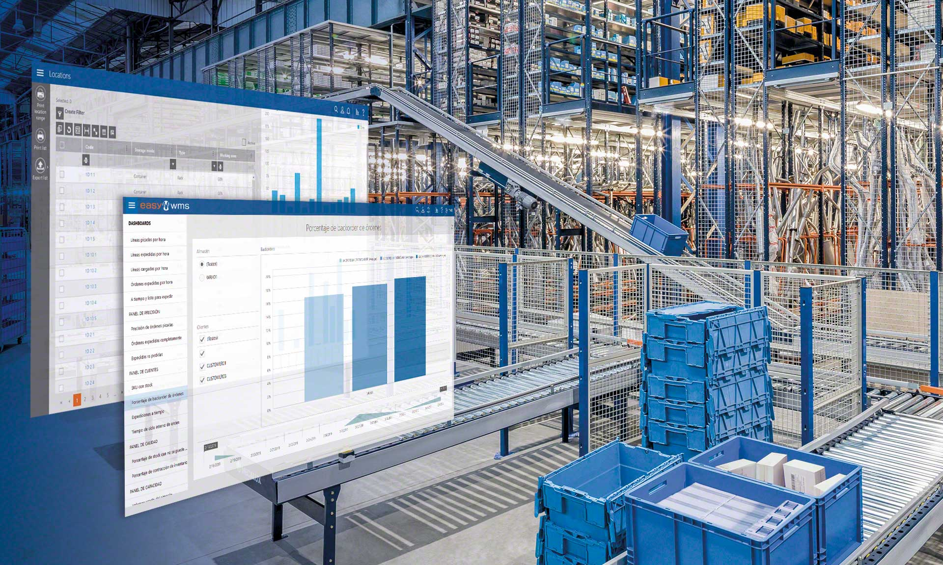 In logistics, hyperautomation consists of digitizing management of the supply chain