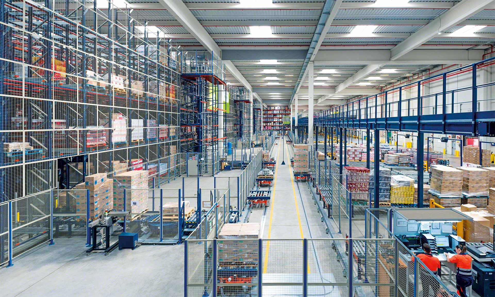 The just-in-case (JIC) inventory management strategy consists of storing goods and raw materials ahead of time
