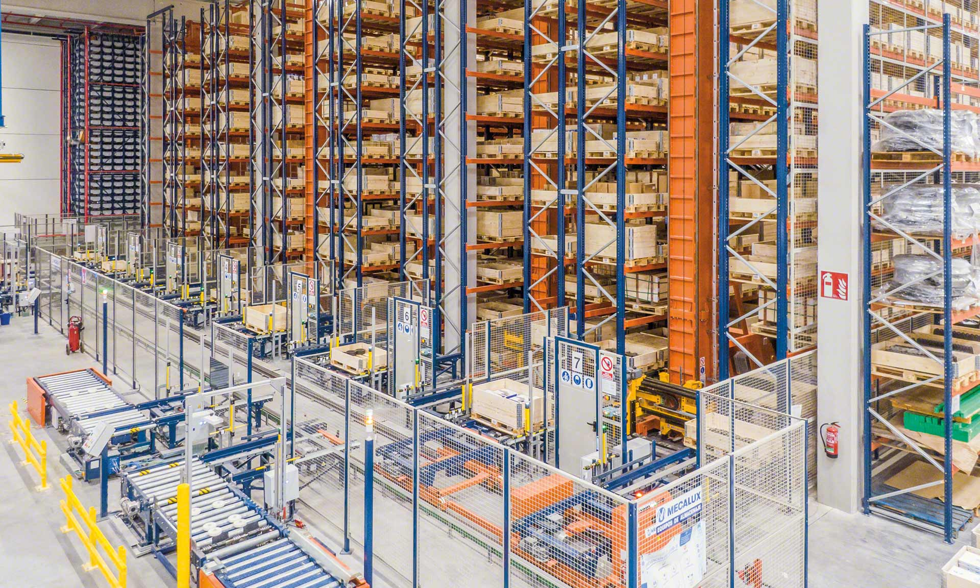 Logistics automation significantly increases efficiency in the warehouse