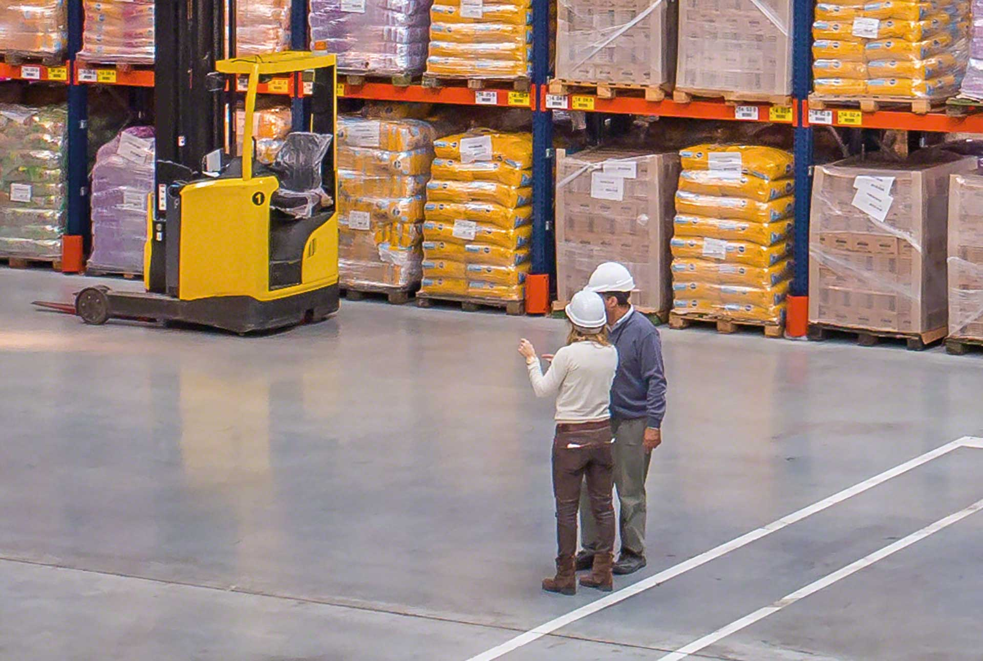 The logistics manager is responsible for supervising and managing all processes that take place in a warehouse