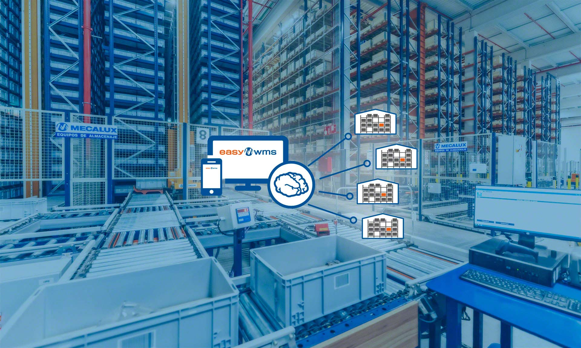 Multi-location inventory management refers to the management of multiple warehouses belonging to a single company