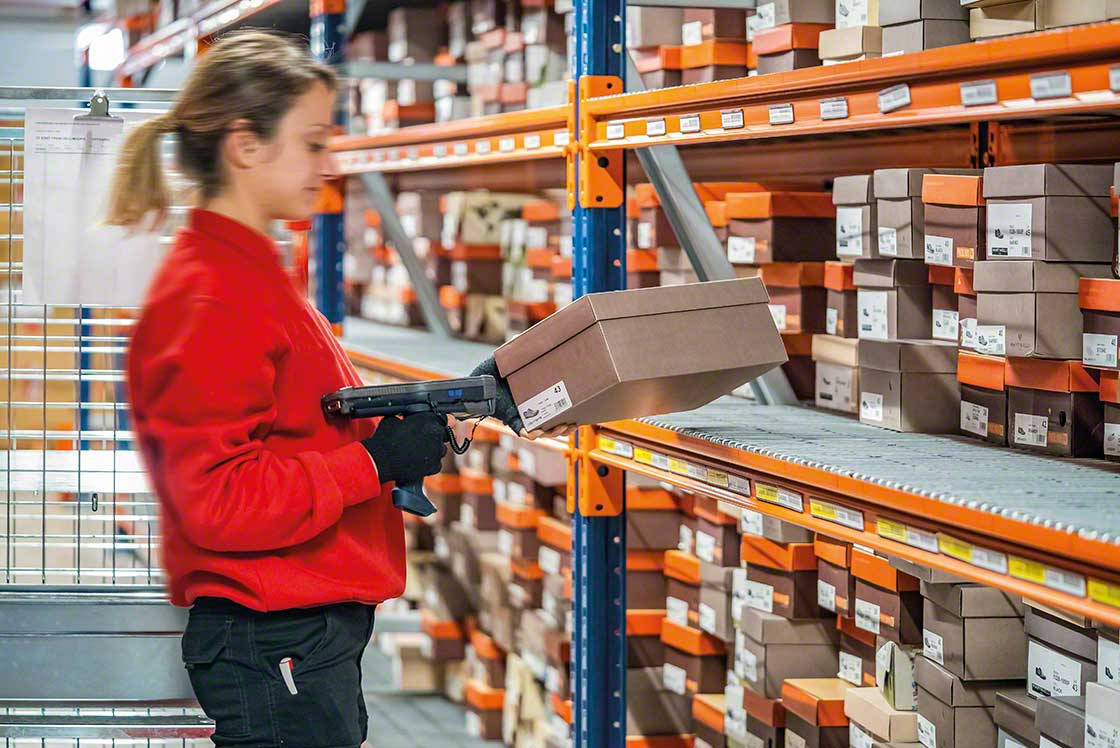 Pending orders free up storage space, thus optimizing the number of locations available in the warehouse