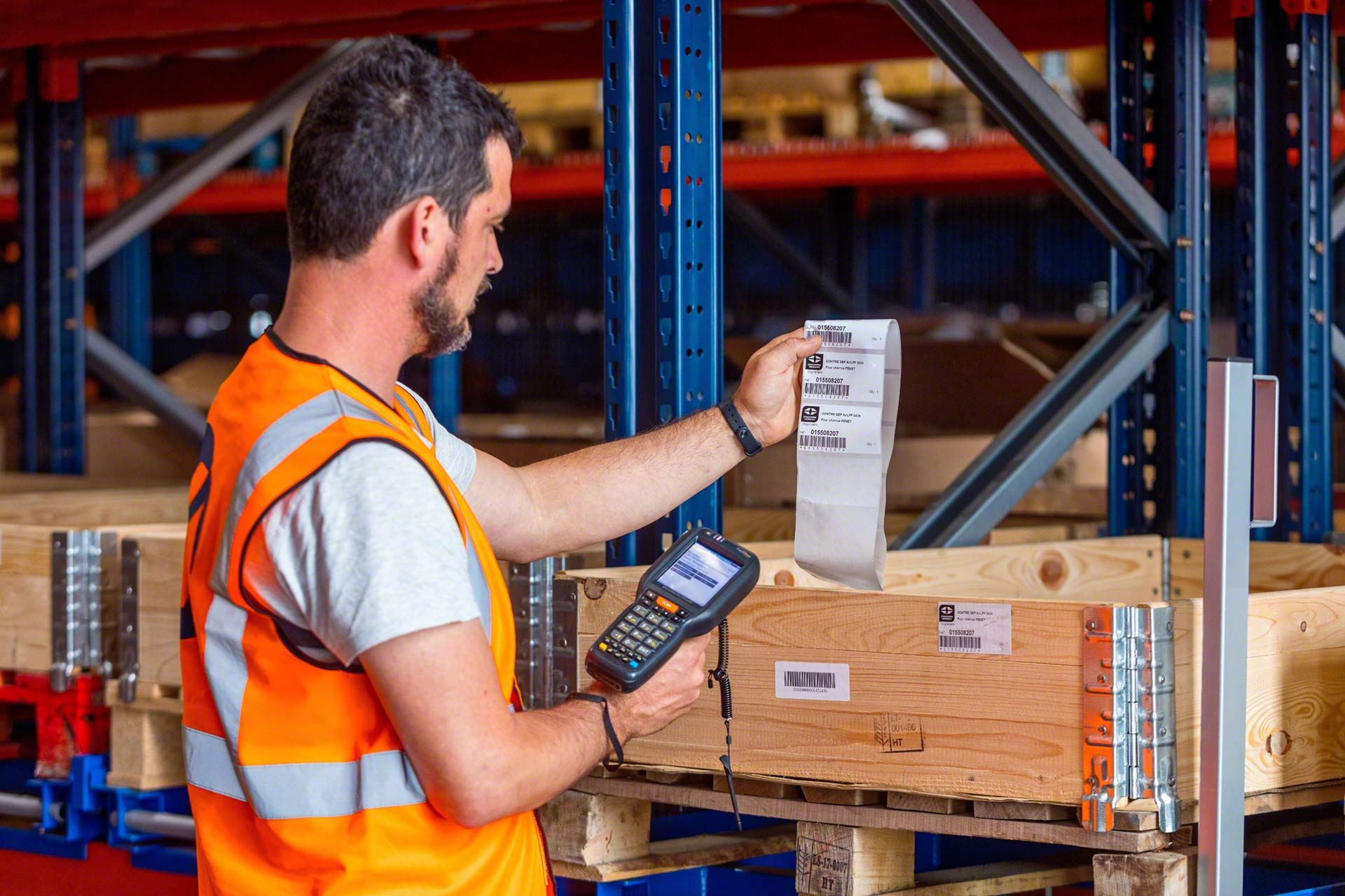 Physical inventory is the operation consisting of manually counting all stock in the warehouse