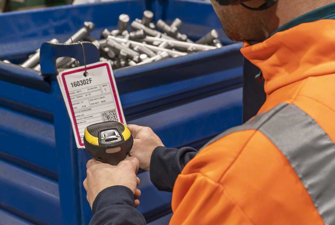 A communication system such as QR codes is ideal for guaranteeing an installation's internal traceability
