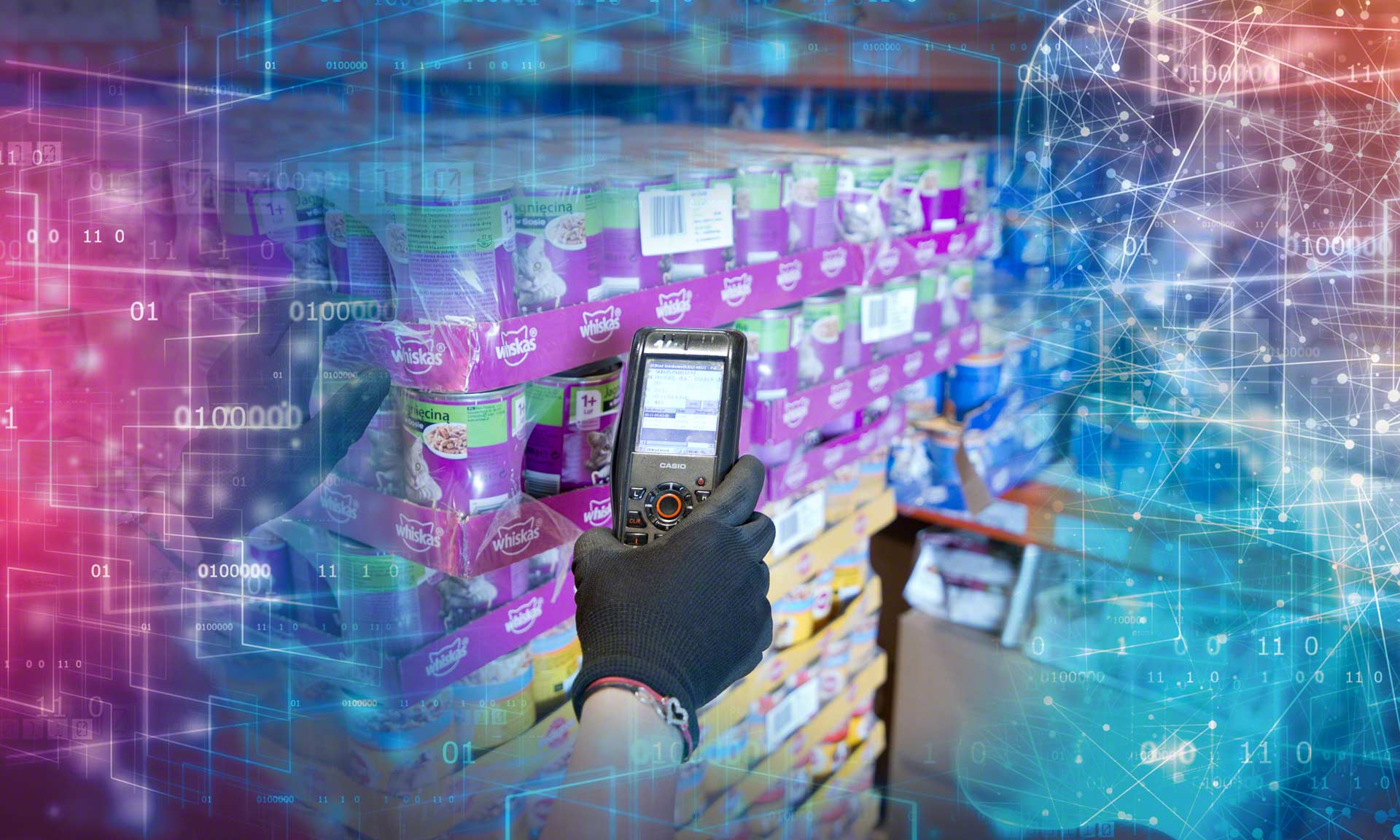 An SSCC code is a global standard used to identify each unit load that enters or leaves the warehouse