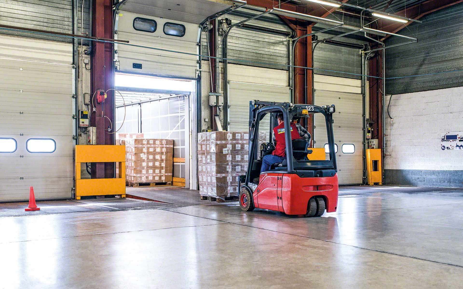 Truck loading is the process of placing goods onto the transportation vehicle