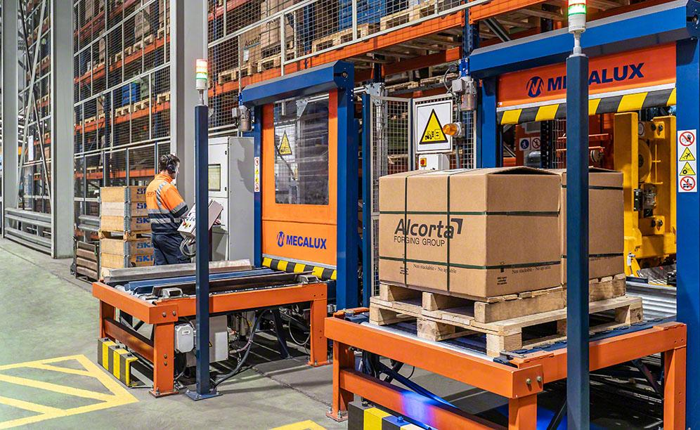 Alcorta Forging Group's automated warehouse for car parts