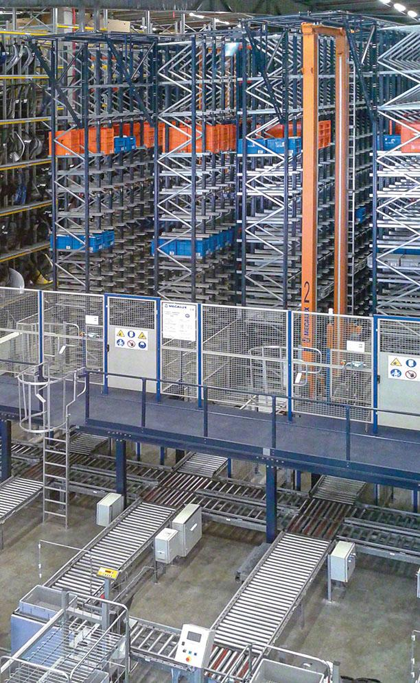 Zbeda's automated warehouses for boxes in Israel