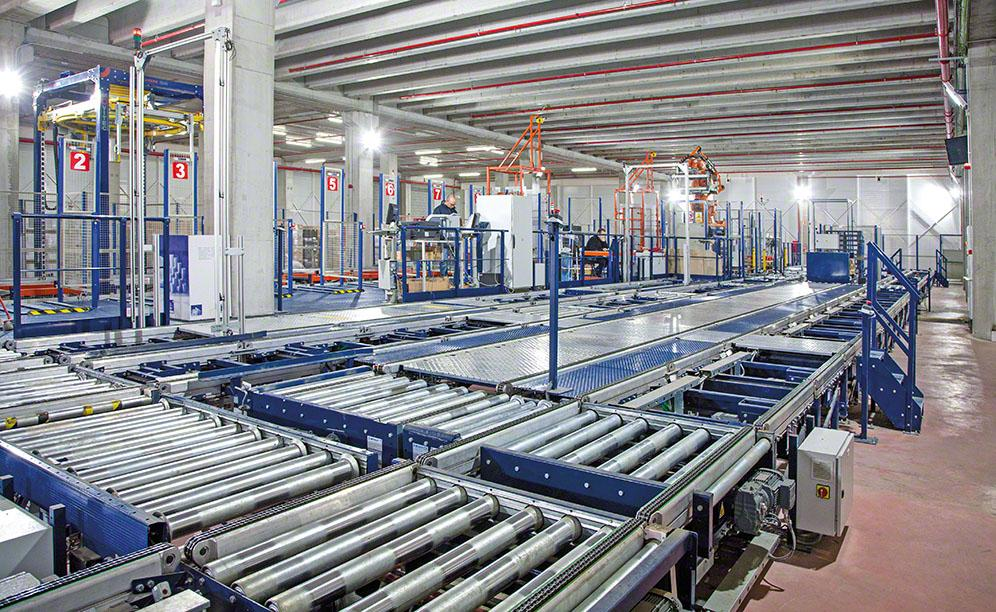 Nupik Internacional's automated warehouse with disposable products in Barcelona