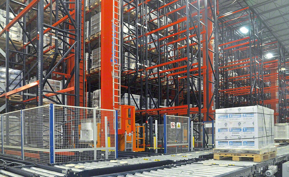 Interlake Mecalux has built a new automated warehouse for Next Generation Films with a storage capacity for more than 15,400 pallets