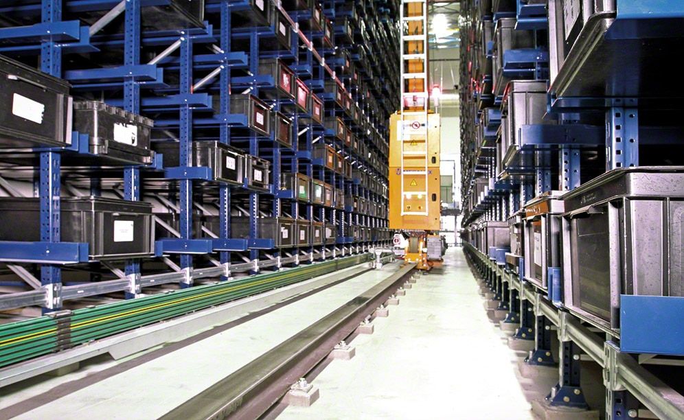 Interlake Mecalux has installed an automated warehouse for boxes with a storage capacity of 3,460 boxes