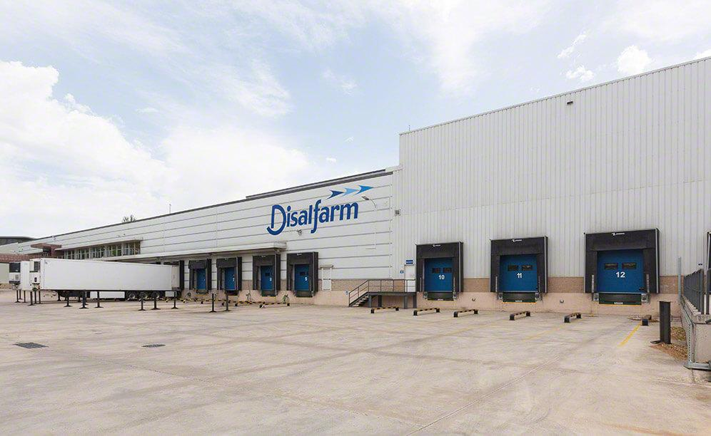 Warehouse improvements were implemented in phases to not hinder workflows at Disalfarm