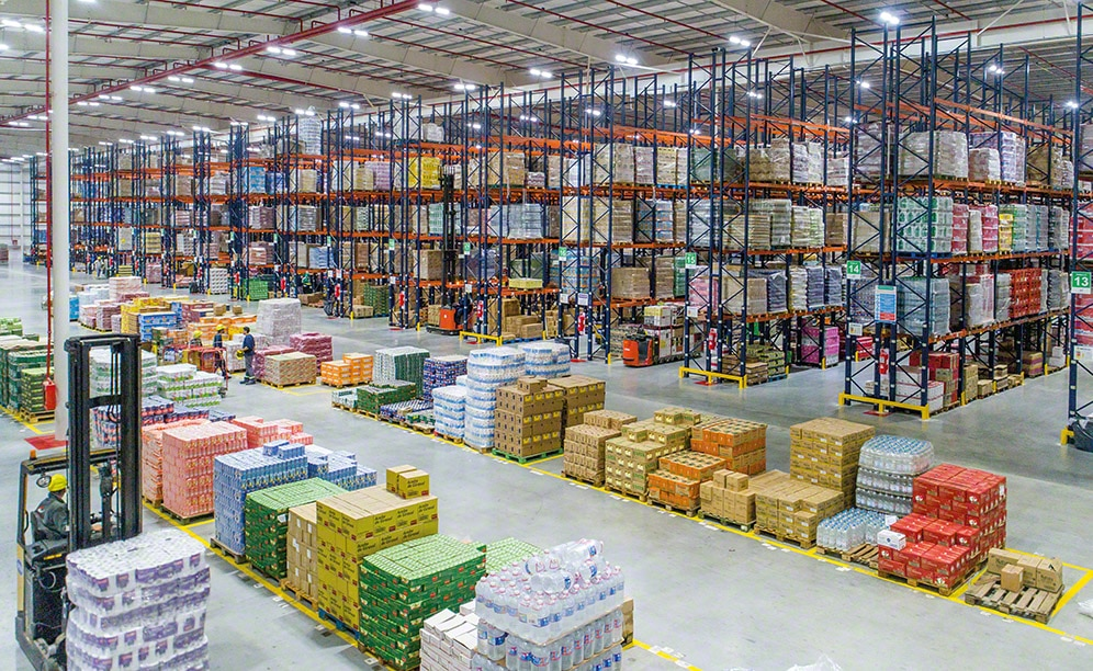 Multi-client CBN Group facility in Argentina features the selective pallet rack system