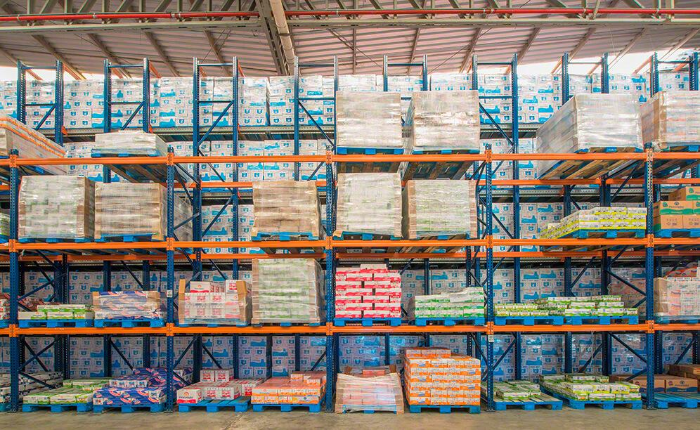 These racks are typified by their versatility in accommodating pallets of different sizes and turnovers, and for providing direct access to goods