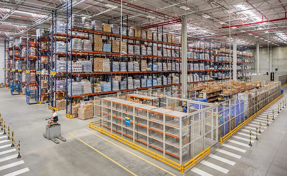 The Petz warehouse in São Paulo is capable of housing more than 5,700 pallets of 39