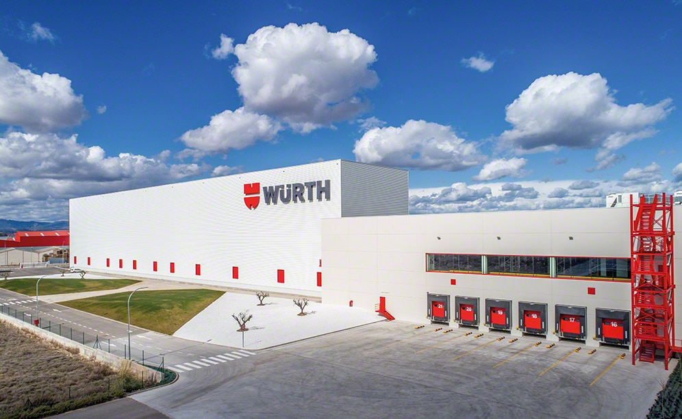 A 100% automated, turnkey warehouse for Würth in La Rioja