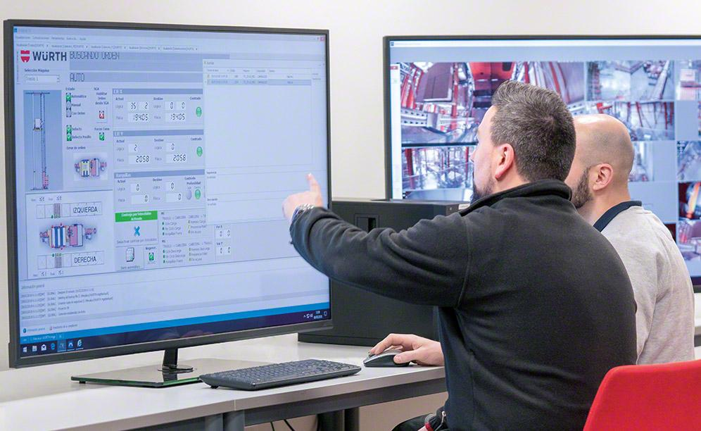The new Würth warehouse is completely automated operations