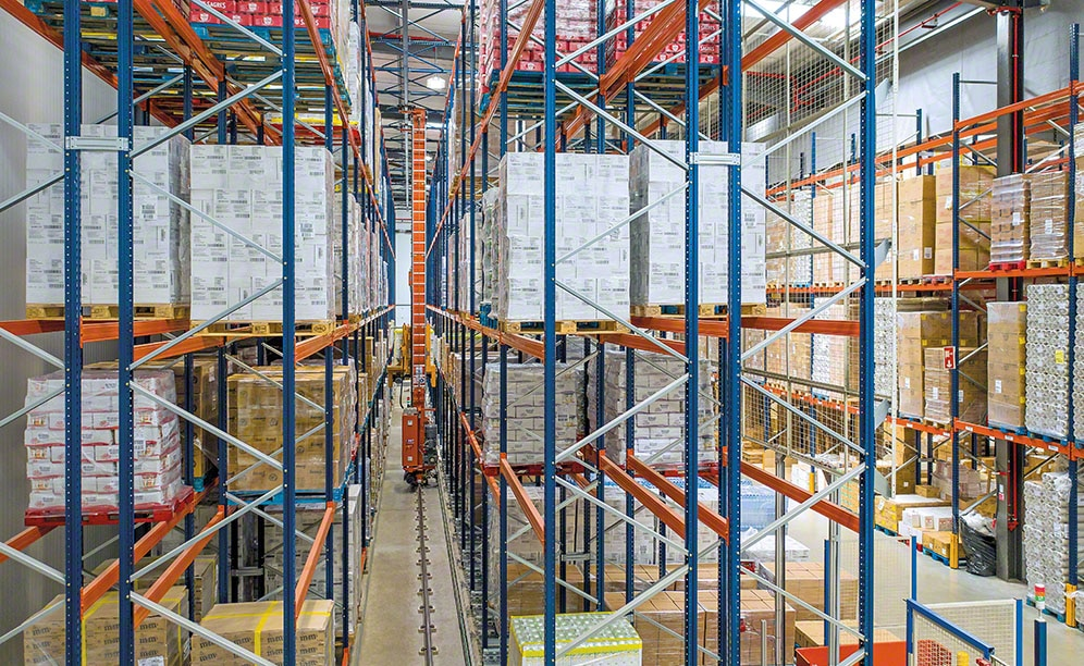 Technology improves warehouse efficiency, space occupancy, and energy consumption