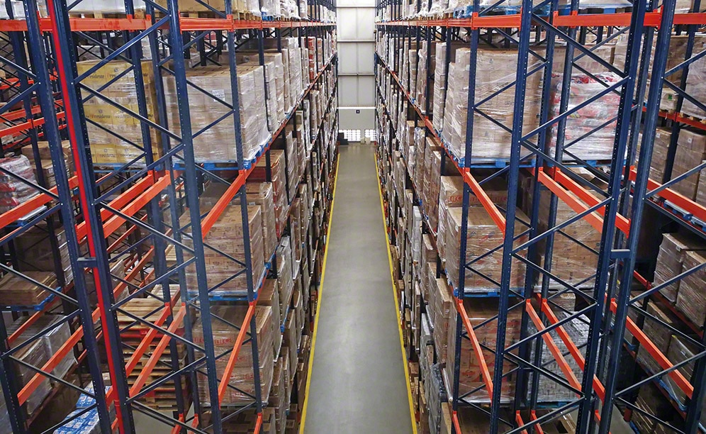 The new Super Nosso online supermarket warehouse