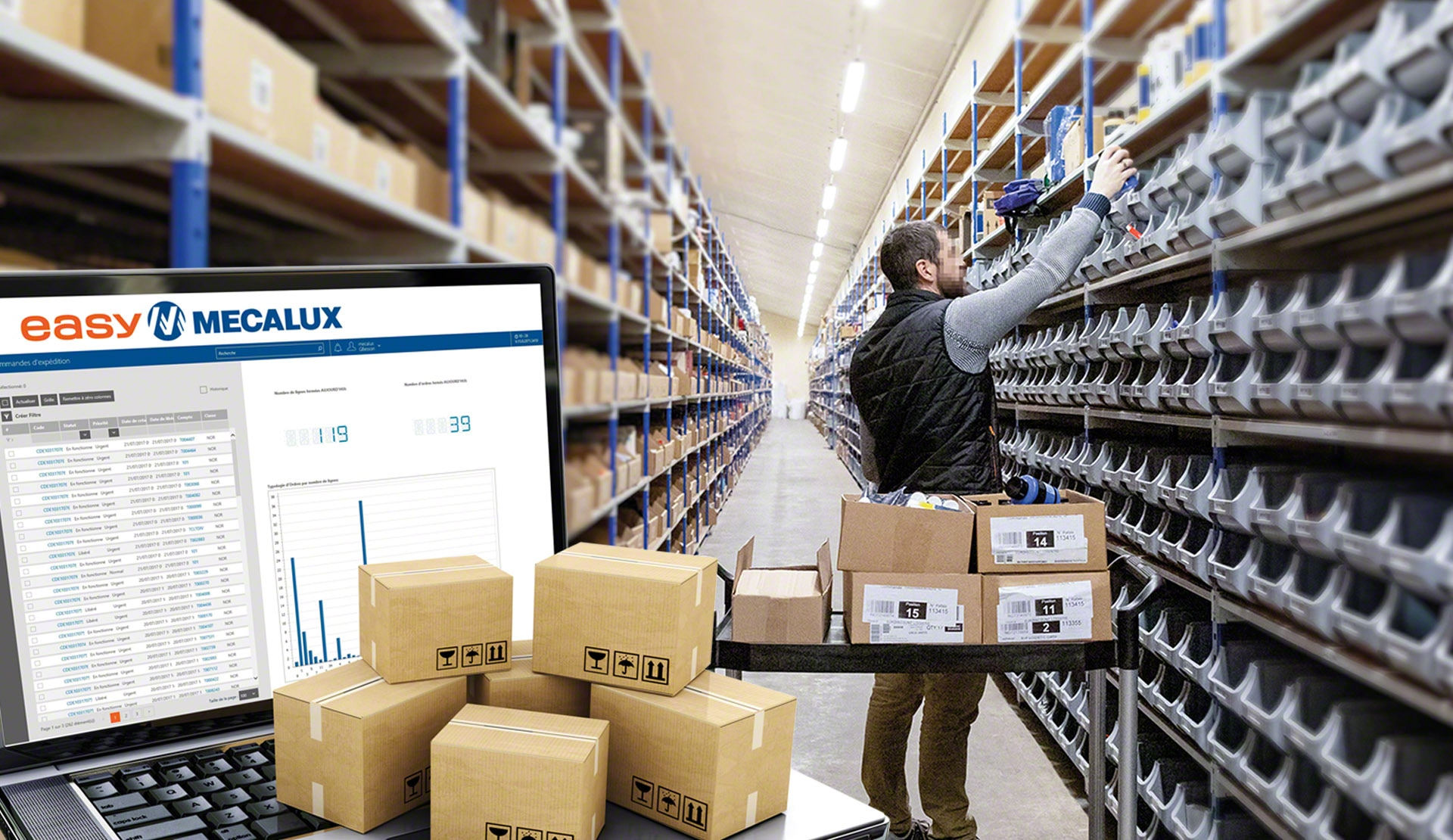 Easy WMS increases its online orders eightfold