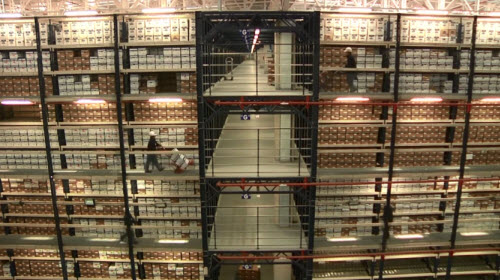 Iron Mountain: An installation with earthquake-proof selective pallet racking