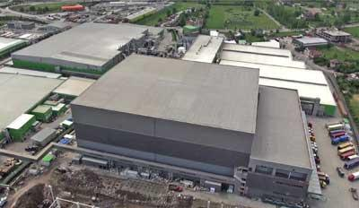 Mecalux builds one of the tallest logistics centers in Europe