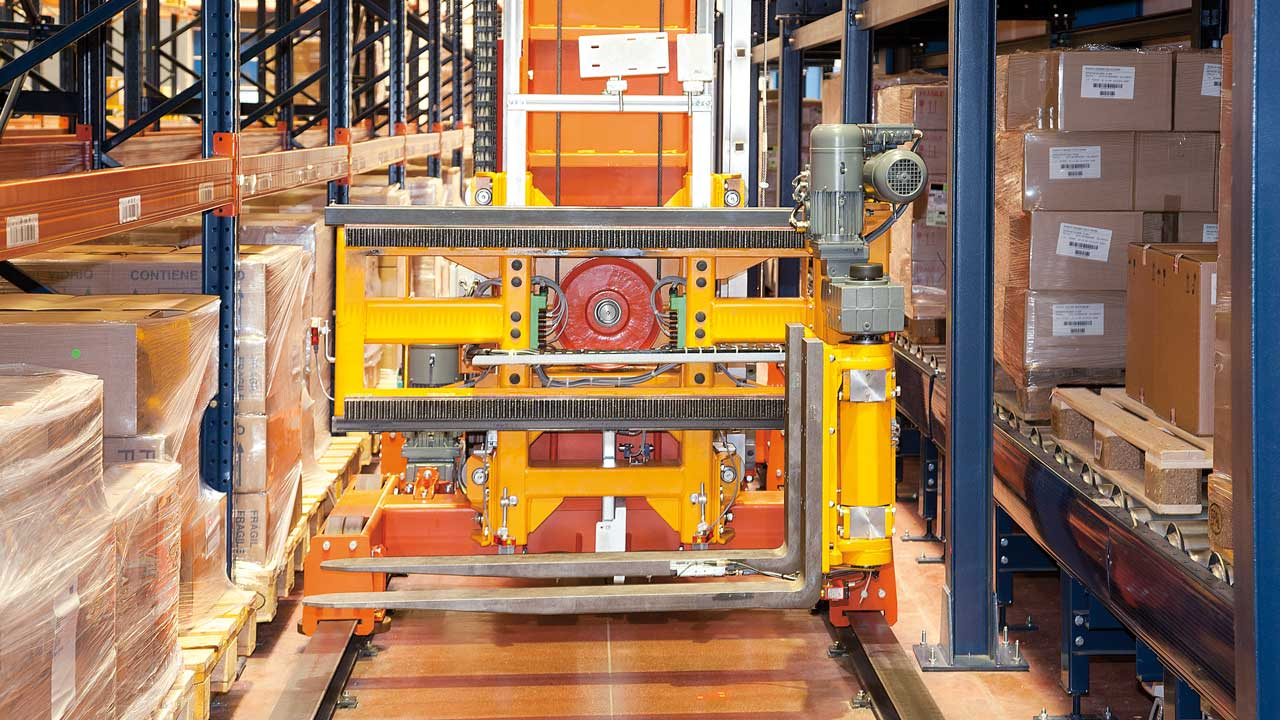 Smooth automation: Disalfarm warehouse introduces trilateral stacker cranes at a reasonable cost