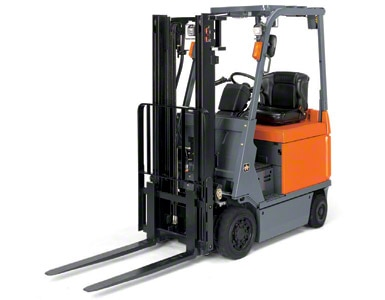 Counterbalanced forklifts are the best for both indoor and outdoor warehouse operations.