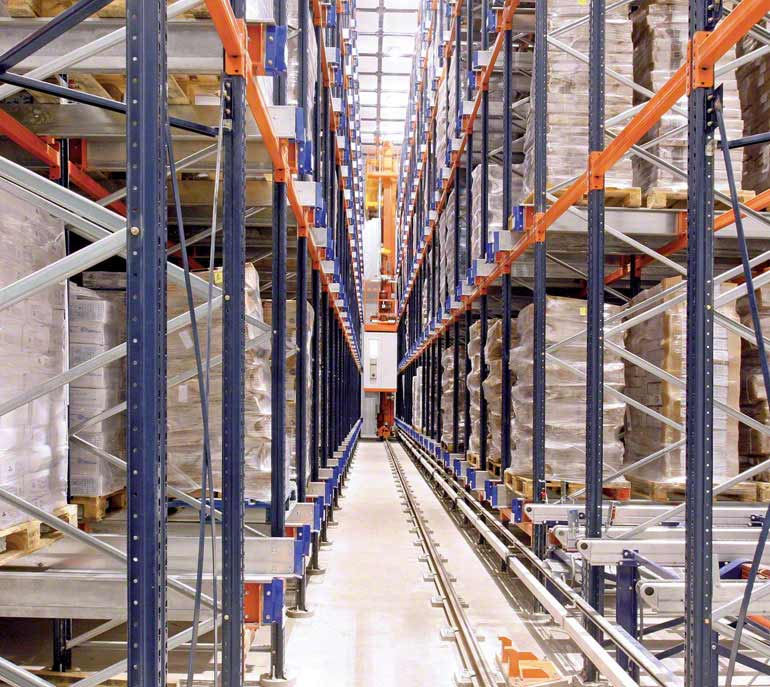 Warehouse/cold storage allocated to the packaging and distribution of fish and seafood.