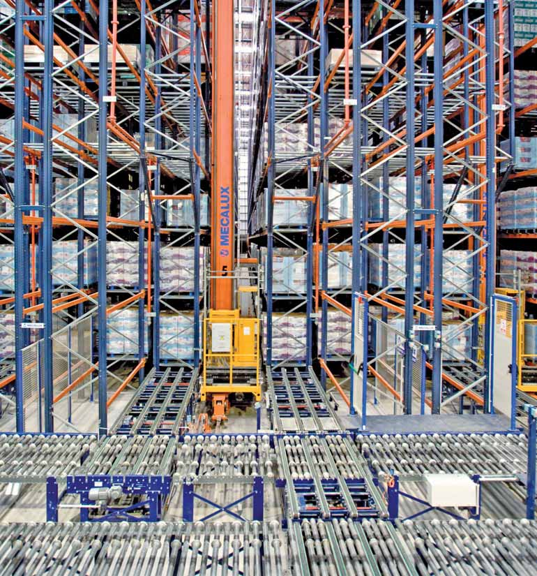 Consumer products warehouse