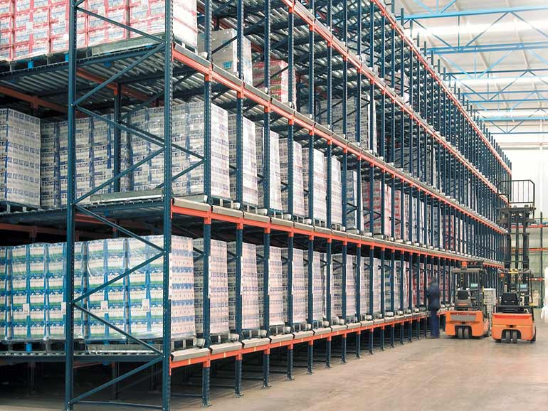 Warehouse for a company in the food sector.