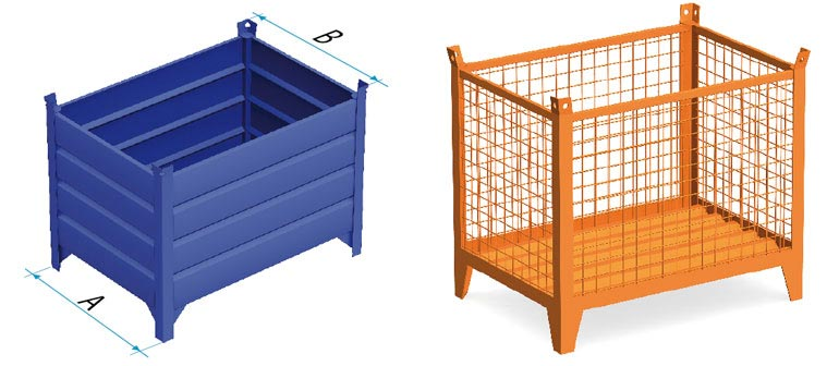 Steel containers (type 1)