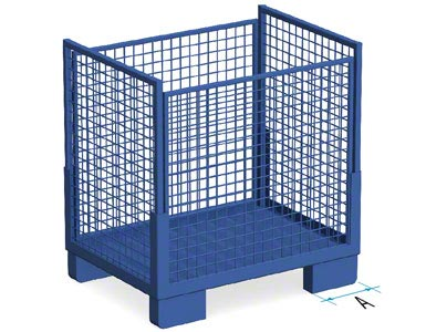 Steel container without skids (type 2)