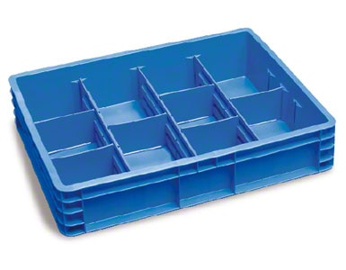 The above boxes can be subdivided to contain various items without mixing them.