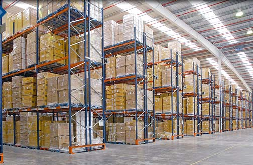 Warehouse metal racking and shelving systems for Warehouse racking design software