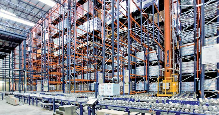 Warehouse for a cosmetics distribution company.