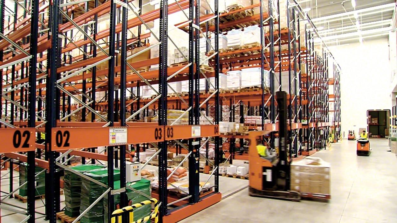 Case study Movirack: Havi Logistics