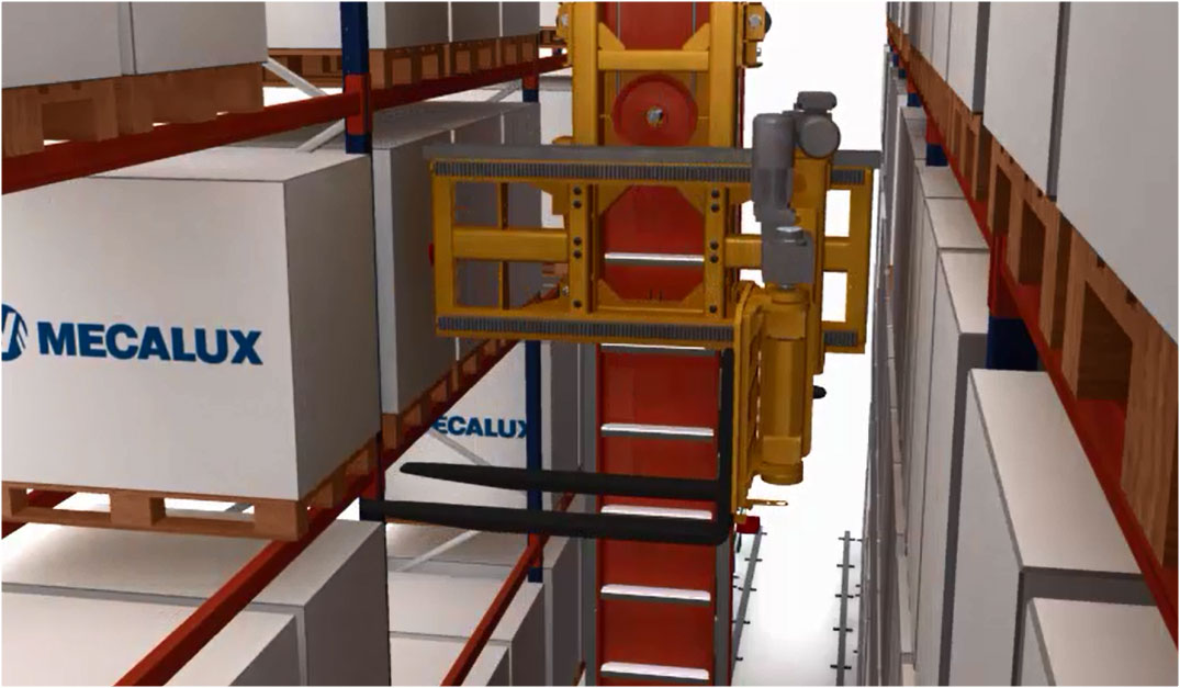 AS/RS Trilateral Stacker Cranes