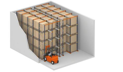 Drive-in racks: Compact pallet storage