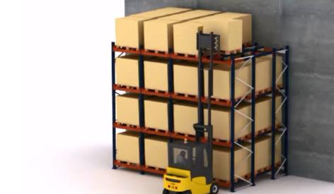 Push-back storage: A question of SKUs