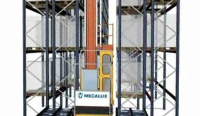 AS/RS Stacker Cranes for Pallets - Single Cycles with double deep extractions